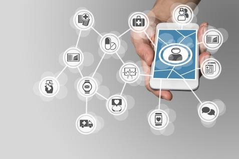 Digital e-healthcare in order to connect patients to medical services